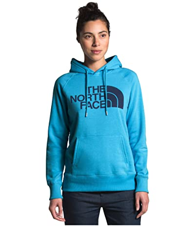 The North Face Half Dome Pullover Hoodie (Ethereal Blue) Women