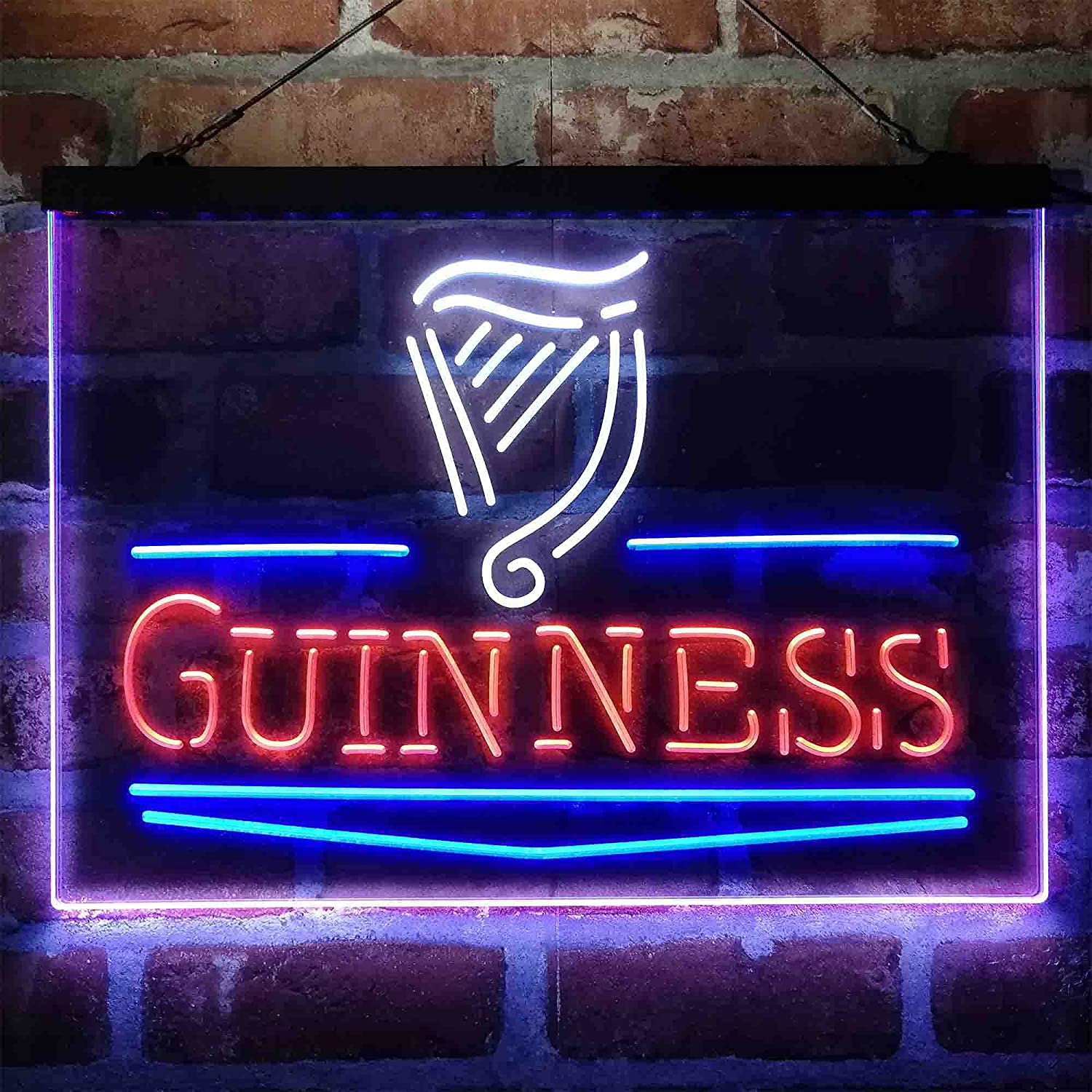 UNIEVE Guinness Classic Sales for sale Beer Bar Colorful LED Man Cave Neon All items in the store Sign