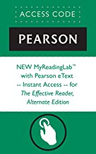 NEW MyReadingLab™  with Pearson eText -- Instant Access -- for The Effective Reader, Alternate Edition (Myreadinglab (Access Codes))