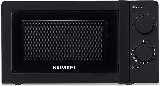 KUMTEL Micro-ondes 20 l 700 W 6 niveaux de puissance Plateau tournant en verre (Ø 24,5 cm) Fonction décongélation programm...