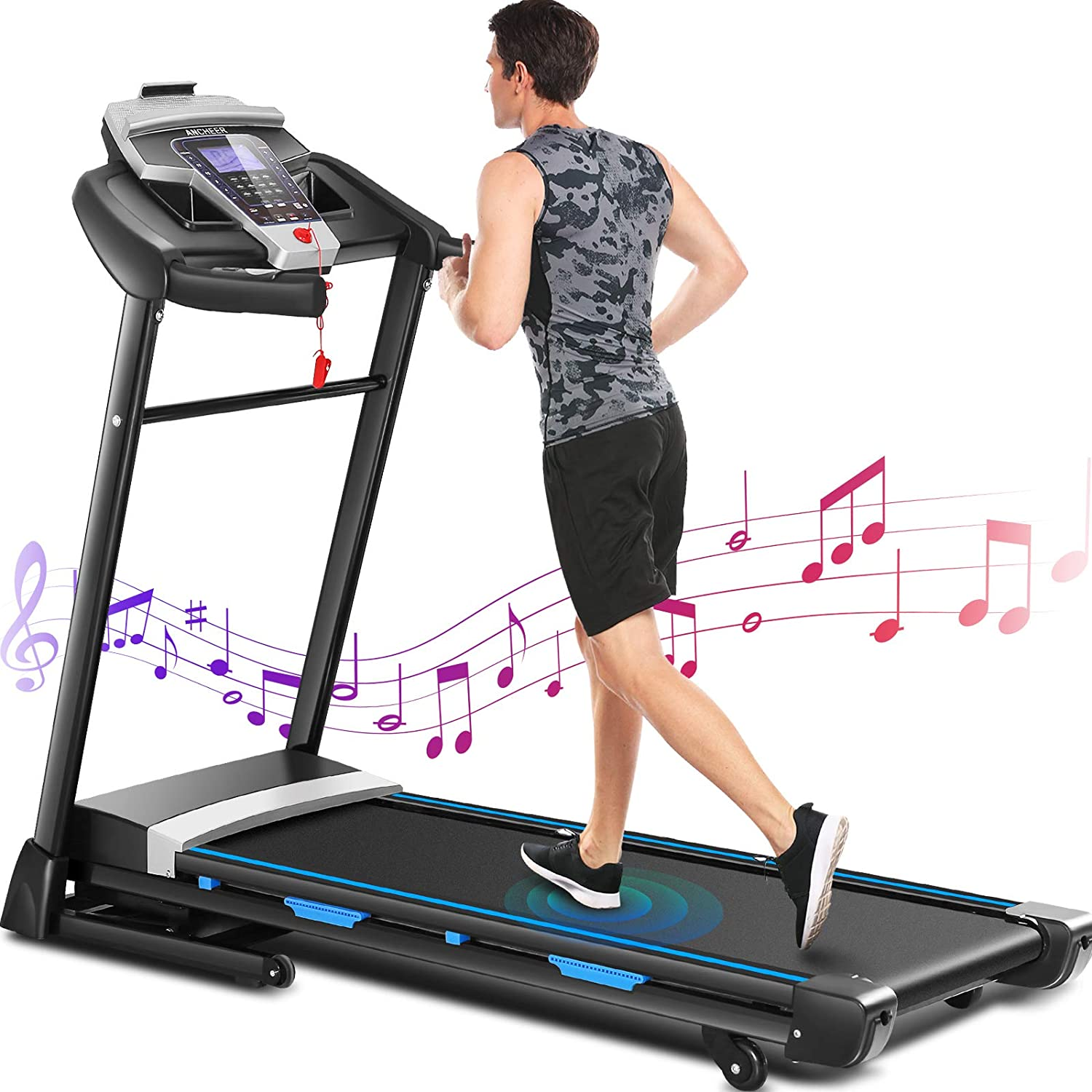 ANCHEER ET970 Treadmill 3.25 HP with Automatic Free shipping on Cheap bargain posting reviews In 15%