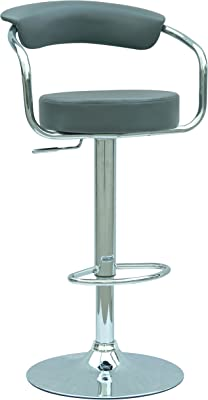 Amazing Amazon Com Modern Contemporary Adjustable Bar Stools Set Gamerscity Chair Design For Home Gamerscityorg