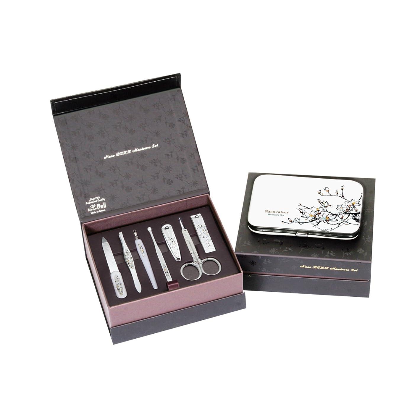 願うスペシャリストブロックするMETAL BELL Manicure Sets BN-8177A ポータブル爪の管理セット爪切りセット 高品質のネイルケアセット高級感のある東洋画のデザイン Portable Nail Clippers Nail Care Set