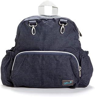 Gitta Mini Total Kids School Bag Child Preschool Backpack, Dark Blue Denim