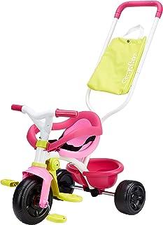 Triciclo Be Fun Confort rosa con bolso y volquete (Smoby
