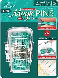Fine Patchwork Magic Pins 1 7/16