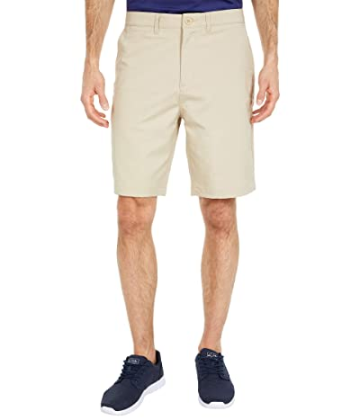 johnnie-O Mulligan Performance Golf Shorts (Light Khaki) Men