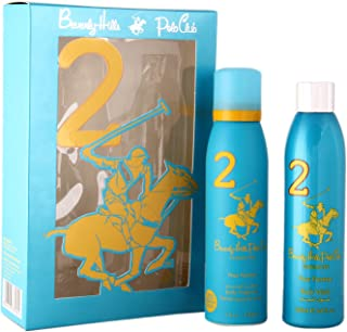 Beverly Hills Polo Club Gift Set 2 for Women (Deodorant and Body Wash)