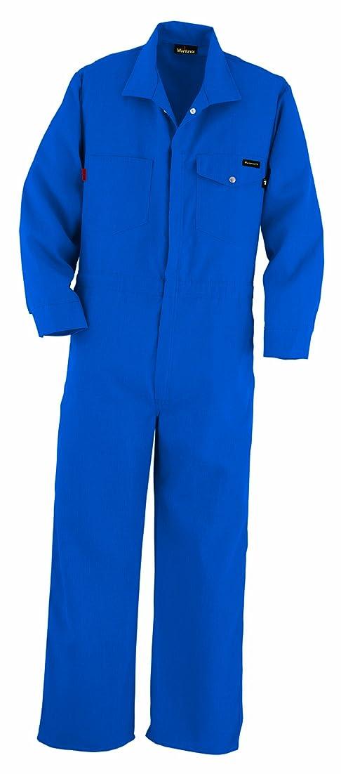 次王族愛されし者Workrite Flame Resistant 4.5 oz Nomex IIIA Industrial Coverall, Snap Wrist, 40 Chest Size, Regular Length, Navy Blue by Workrite