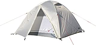 キャプテンスタッグ(CAPTAIN STAG) テント ドームテント アルミドーム 【3人用】 UV・PU加工 キャリーバッグ付き ホワイト トレッカー UA-51