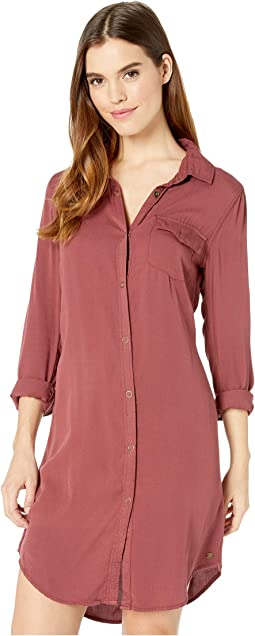 Tomini Bay View Shirtdress