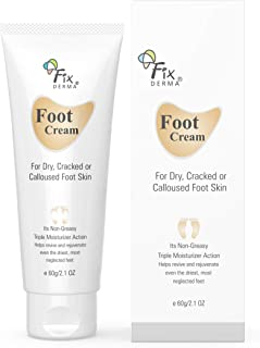 FIXDERMA Foot Cream For Dry, Cracker or Calloused Foot Skin (60 Ml)