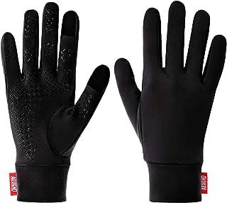 Aegend Lightweight Running Gloves Warm Gloves Mittens Liners Women Men Touch Screen..