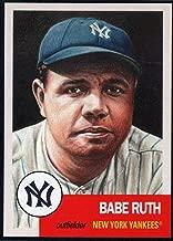 Baseball MLB 2018 Topps Living Set #100 Babe Ruth Yankees