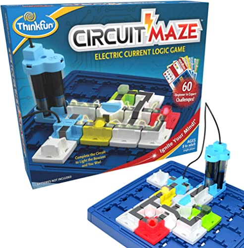 ThinkFun 44001008 Circuit Maze Game,Logic Games