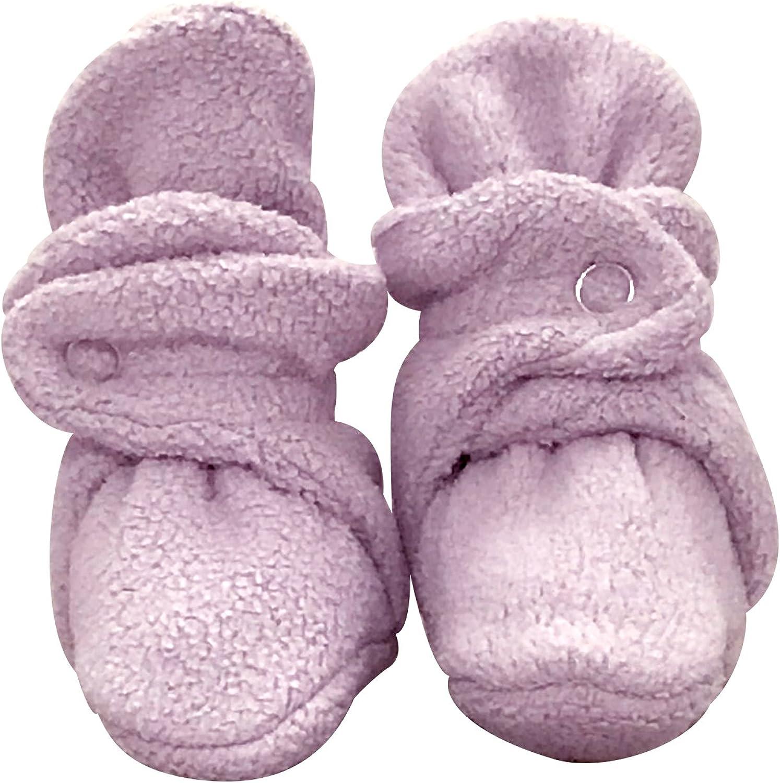 bume baby Lilac Warm Cozy Infant Baby Fleece Booties