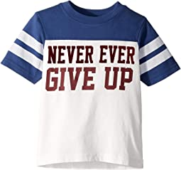 Never Ever Give Up Tee (Toddler/Little Kids/Big Kids)