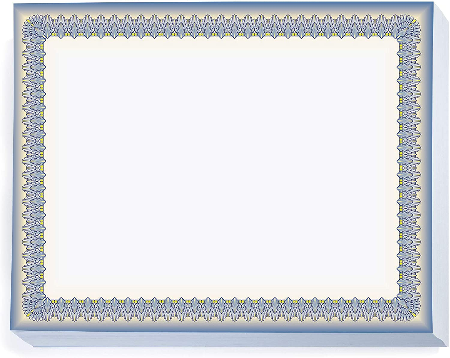 PaperDirect Blue White specialty shop and Sophisticate Yellow Standard Certif Free Shipping Cheap Bargain Gift