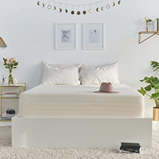 Brentwood Home 13-Inch Gel HD Memory Foam Mattress, Made in USA, CertiPUR-US, 25 Year Warranty, Natural Wool Sleep Surface and Bamboo Cover, Full Size