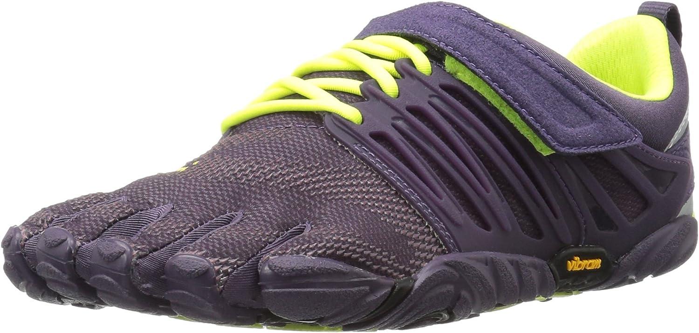Vibram Women's V-Train Cross-Trainer Shoe, Nightshade/Safety Yel