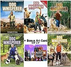 Dog Whisperer with Cesar Millan: TV Series Complete Seasons 1-4 DVD Collection + Bonus Art Card