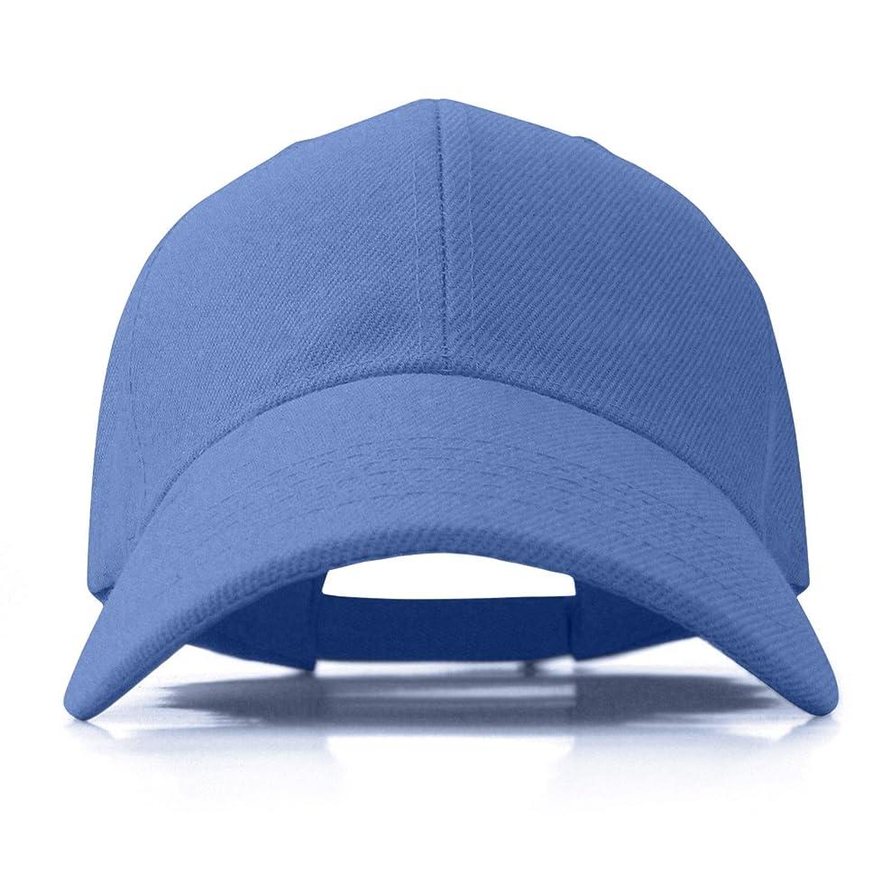 ほかに古くなったスピン男性用帽子 女性用 ソリッドカラー アクリル 調節可能なキャップ(SB001)
