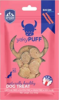 Himalayan Pet Supply yakyPUFF Himalayan Cheese Treats | Lactose Free | Gluten Free | Grain Free | Made in USA | for All Br...