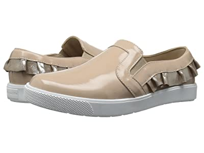 Elephantito Ruffled Slip-On (Toddler/Little Kid/Big Kid) (Patent Blush) Girls Shoes