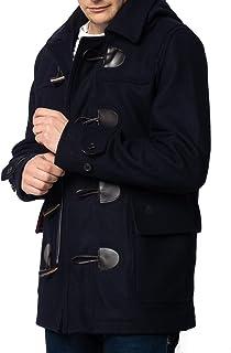merc Bonner, Men's Short Duffle Coat with Detachable Hood