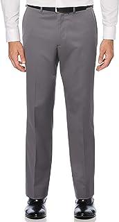 Perry Ellis Men's Flat Front Classic Fit Cotton Pant Pants