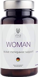 Vital Concept Woman - Apoyo efectivo para la menopausia. 100 mg