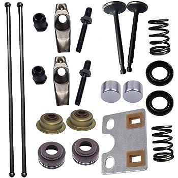 amazon.com: haishine valve push rod guide plate rocker arm lifter tappet  stem seal kit for honda gx340 gx390 188f 5kw 6.5kw generator engine motor:  garden & outdoor  amazon.com