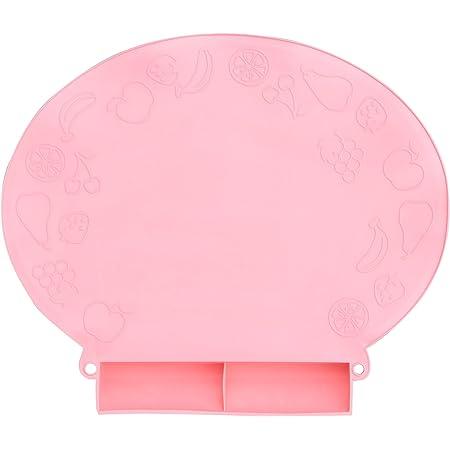スマートスタート スマートダイナーII 8個の吸盤でしっかり安定 お食事マット 食べこぼしキャッチポケット付(厚手) ピンク