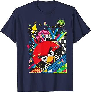 Angry Birds Geometric Pop Art T-Shirt Official Merchandise