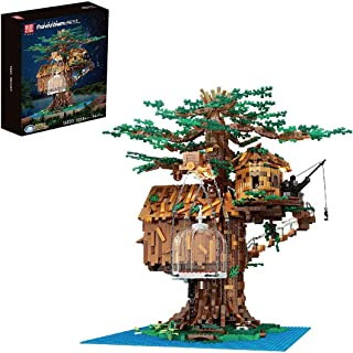 Tree House Building Blocks Toy for Kids, Adults - 3958+Pcs