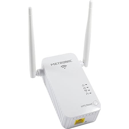 Metronic 495432 - Repetidor WiFi, blanco