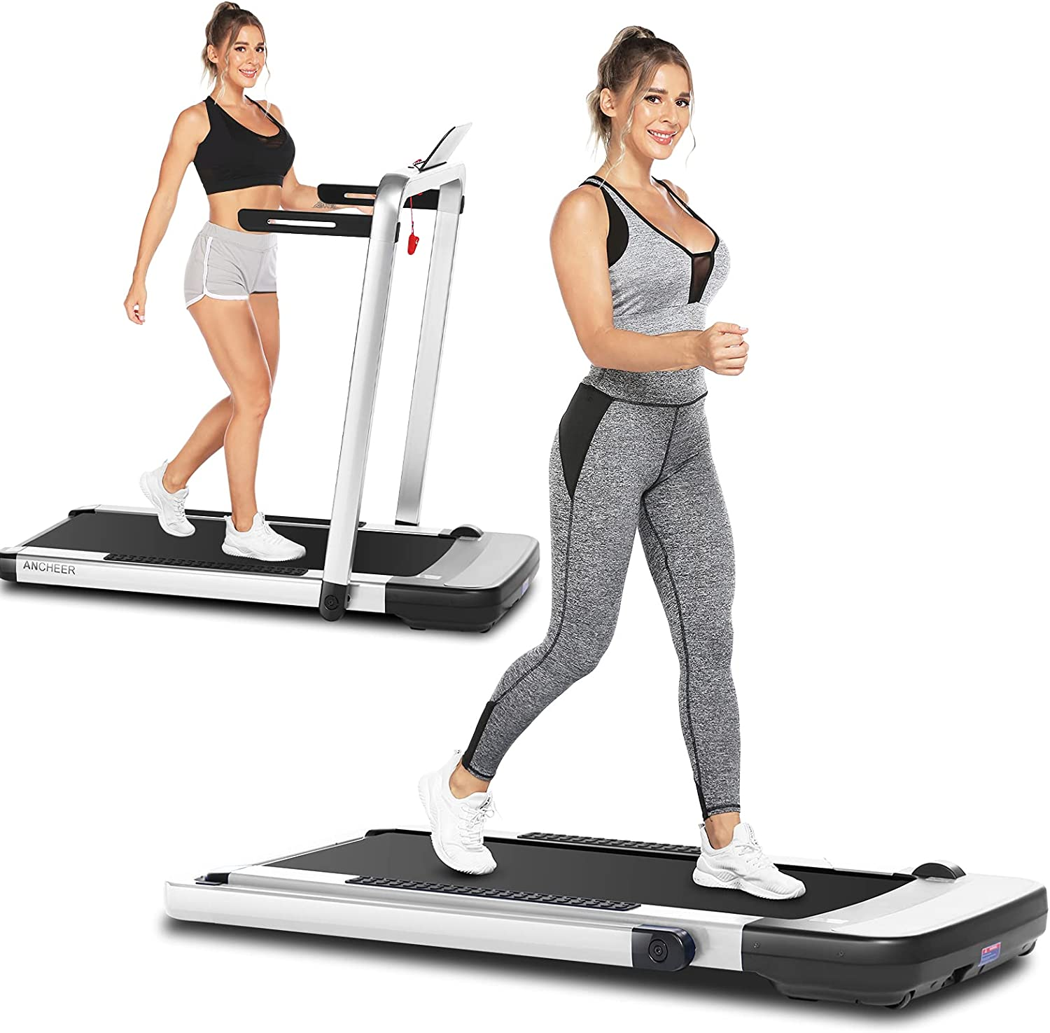 ANCHEER 25% OFF 2 in 1 Folding Under Desk Portable Super Special SALE held Treadmill