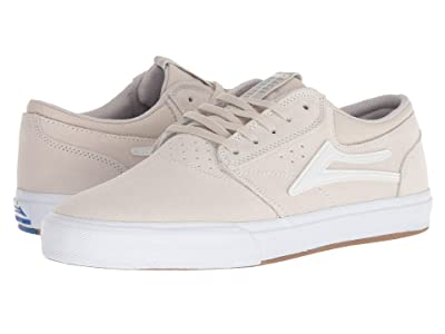 Lakai Griffin (White Suede) Men