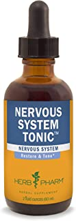 Herb Pharm Nervous System Tonic Liquid Herbal Formula to Strengthen and Calm The Nervous System - 2 Ounce