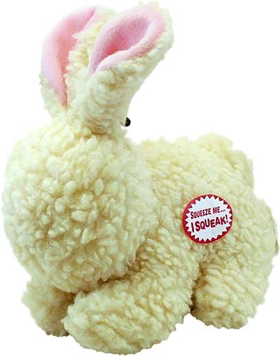 Ethical Fleece Rabbit 9-Inch Dog Toy