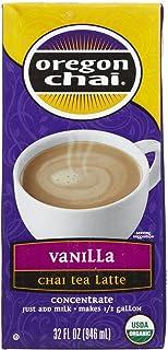 Oregon Chai Vanilla Chai Tea Latte Concentrate, 32 oz