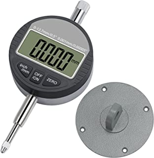 Neoteck DTL LED Micromètre numérique 0.001mm / 0.00005 '' Indicateur..