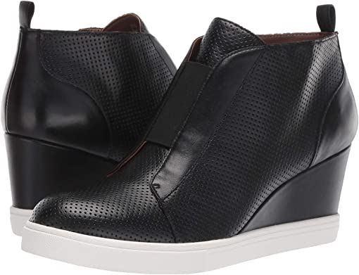 Black Perforated Nappa