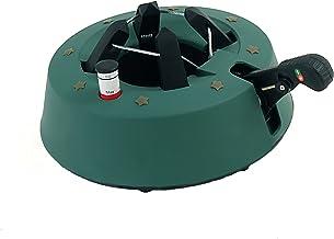 FHS S200 Christbaumständer Start 1 rund, mit Fußhebelfunktion und Einseiltechnik, 1,3 Liter Wassertank, für Baumhöhe max. 2 m