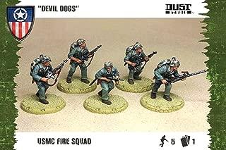 Dust Tactics: Allies USMC Fire Squad