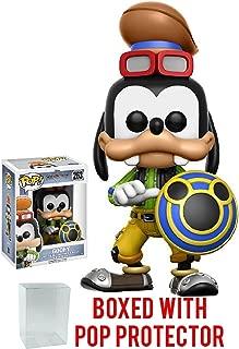 Funko Pop! Disney: Kingdom Hearts Goofy Vinyl Figure (Bundled with Pop BOX PROTECTOR CASE)