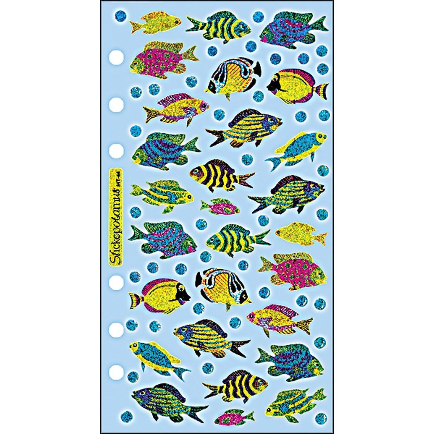 Sticko SPMT44 Classic Stickers, Funky Fish