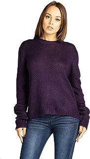 Blue Age Women's Open Front Long Knit Cardigan Sweater