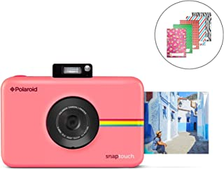 Polaroid SNAP Touch 2.0 - 13MP Portable Instant Print Digital Photo Camera w/Built-In Touchscreen Display, Pink
