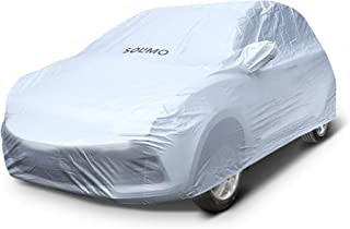 Amazon Brand - Solimo Hyundai Grand i10 Water Resistant Car Cover (Silver)